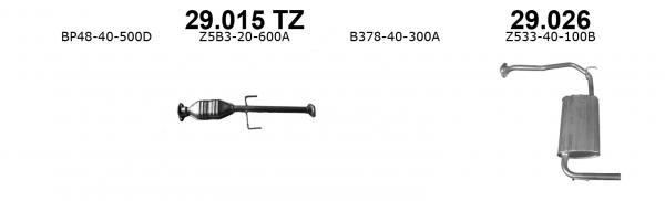 MAZDA 323 1.3i-16V