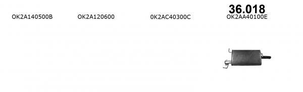 KIA SHUMA 1.5i-16V
